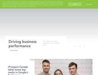 iprospect.ca screenshot