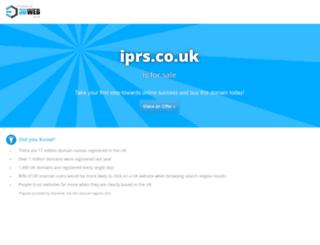 iprs.co.uk screenshot