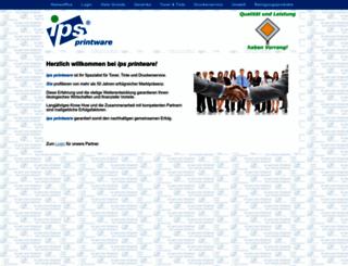 ips-printware.at screenshot