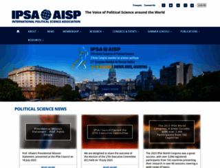 ipsa.org screenshot