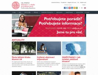 ipsc.cuni.cz screenshot