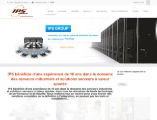 ipsgroup.fr screenshot
