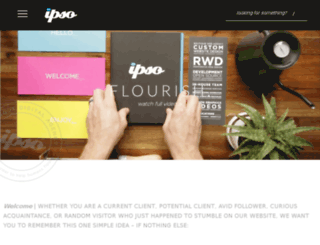 ipsocreative.com screenshot