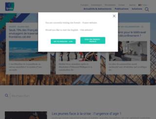 ipsos.fr screenshot