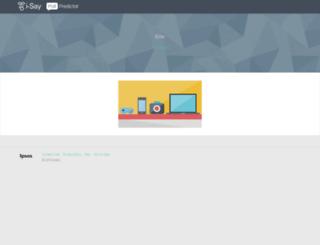 ipsospollpredictor2.com screenshot