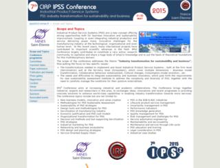 ipss2015.emse.fr screenshot