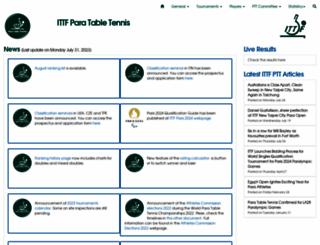 ipttc.org screenshot