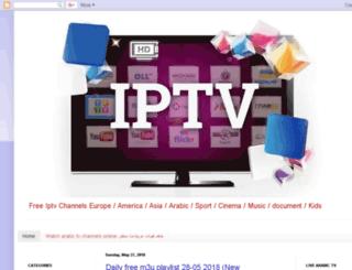 iptv-zak.blogspot.ie screenshot