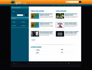 iptv.usp.br screenshot