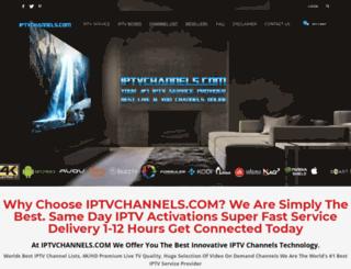 iptvchannels.com screenshot