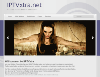 iptvxtra.net screenshot
