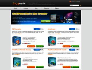 ipubsoft.com screenshot