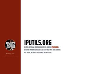 iputils.org screenshot