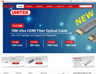ipv4.unitek-products.com screenshot