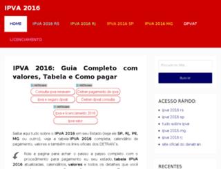 ipva2016.pro.br screenshot