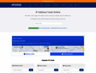 ipvoid.com screenshot