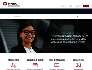 ipwea.org screenshot