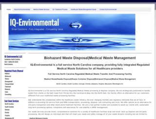 iq-environmental.com screenshot