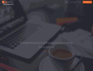 iqbility.com screenshot