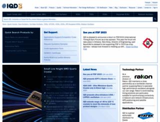 iqdfrequencyproducts.com screenshot