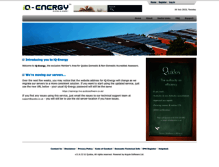 iqenergy.quidos.co.uk screenshot