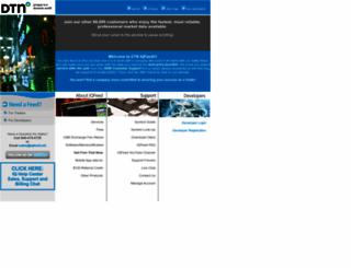 iqfeed.net screenshot