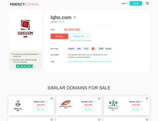 iqho.com screenshot
