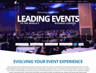 iqpc.com screenshot