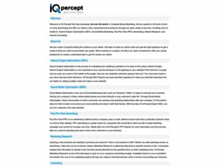 iqpercept.com screenshot