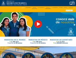 iqsj.maristas.edu.mx screenshot
