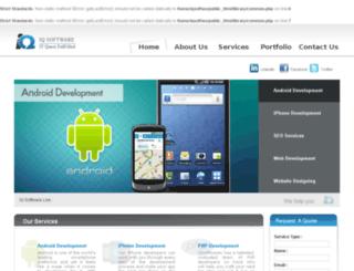 iqsoftwares.com screenshot