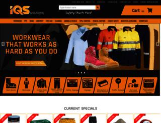 iqssolutions.com.au screenshot