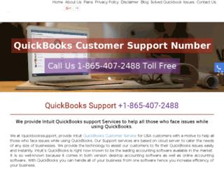 iquickbookssupport.com screenshot