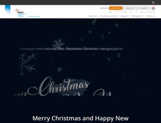 ir.binus.ac.id screenshot