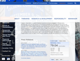 ir.junotherapeutics.com screenshot