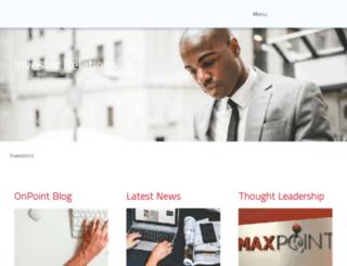 ir.maxpoint.com screenshot