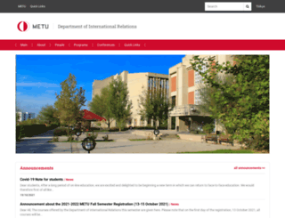 ir.metu.edu.tr screenshot