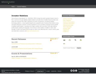 ir.servicesource.com screenshot