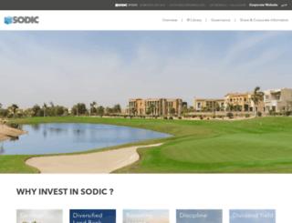 ir.sodic.com screenshot