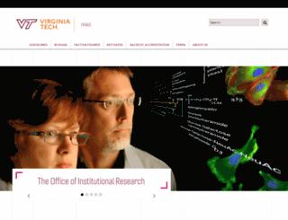 ir.vt.edu screenshot
