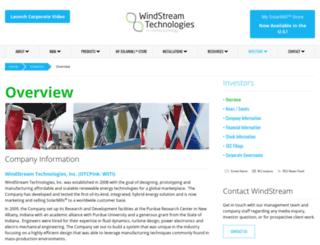 ir.windstream-inc.com screenshot