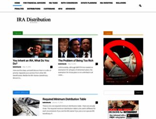 ira-distribution.com screenshot