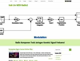 irakliowebradio2.blogspot.com screenshot