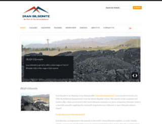 iran-gilsonite.com screenshot