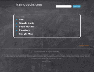 iran-google.com screenshot