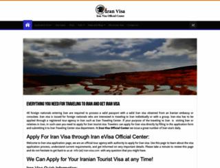 iran-visa.com screenshot