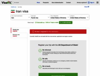 iran.visahq.com screenshot