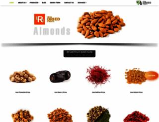 irandriedfruit.com screenshot