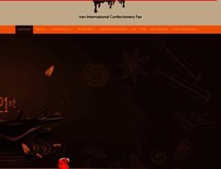 iranicf.com screenshot