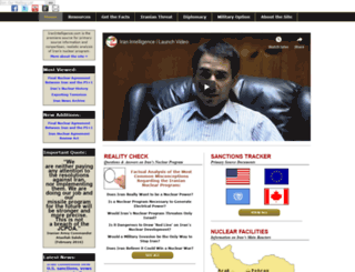 iranintelligence.com screenshot